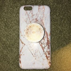 Other - Gold Marble Phone Case
